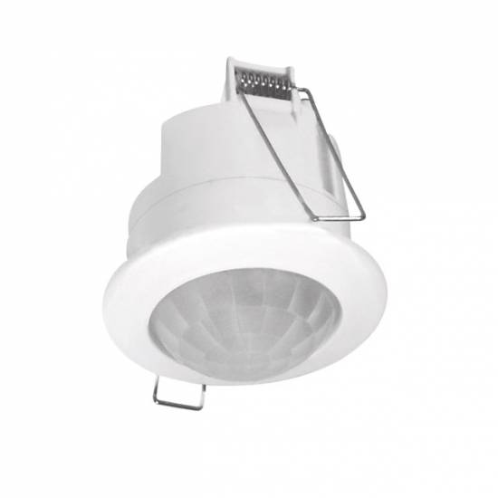 up bewegungsmelder einbaustrahler infrarot 360 unterputz ebay. Black Bedroom Furniture Sets. Home Design Ideas